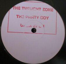 "THE PARTY BOYS ~ The Twilight Zone ~ 12"" Single PROMO"