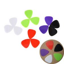 12Pcs Guitar Picks The Guitar Pick Size 0.73mm Music Instrument random color AU.