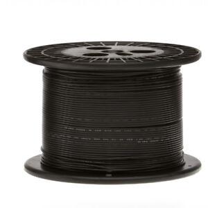 """16 AWG Gauge Stranded Hook Up Wire Black 250 ft 0.0508"""" UL1015 600 Volts"""