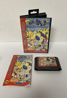 Ren & Stimpy: Stimpy's Invention (Sega Genesis) COMPLETE W/ MANUAL CIB - TESTED!
