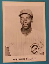 1958-1963 ERNIE BANKS JAY PUBLISHING 5X7 B&W PHOTO