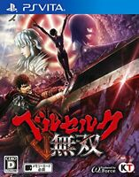USED PS VITA Berserk Musou PSV 86892 JAPAN IMPORT