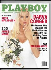 Back Issue August 2000 Playboy Magazine ~ Darva Conger Cover & Nude ~ VF/NM