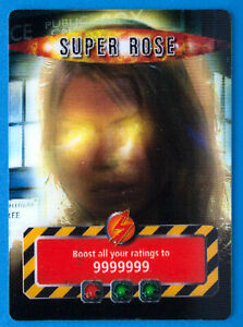DOCTOR WHO BATTLES IN TIME SUPER ROSE GOLD CARD 2007 - VERY RARE