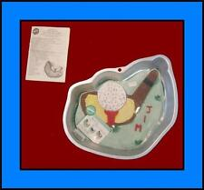 NEW! Wilton **TEE IT UP** Golf Cake Pan COMPLETE!! #2032