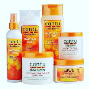Cantu Shea Butter Professional Hair Afro Care CONDITIONER CURL REPAIR SHAMPOO