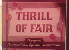 "16mm Film Cartoon: Popeye - ""Thrill of Fair"" | Color & Sound"