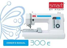 PFAFF Smart 300E Instructions User Guide Manual COLOR COPY