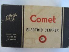 VINTAGE ELECTRIC HAIR CLIPPERS NAMED COMET MODEL NO. 49 BOX ONLY NO CLIPPER