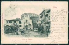 Gorizia Città Rilievo cartolina QT0987