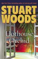 Stuart Woods' HOTHOUSE ORCHIDS - a Holly Barker series hardback book