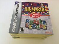 Dr. Mario & Puzzle League (Nintendo Game Boy Advance, 2005) GBA NEW!