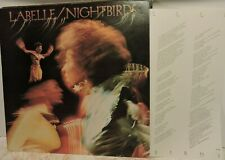 PATTI LABELLE Nightbirds inc insert 1974 CBS Records freeUKpost