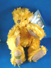 "Merrythought Bear 12"" with passport 144/1000 Jointed Mohair @H"