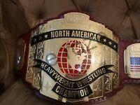 NWA North America Wrestling Heavyweight Championship Belt Replica Adult