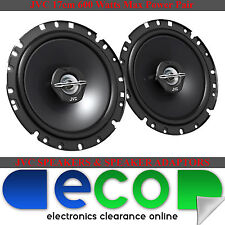 Fiat Punto 06-14 JVC 17cm 6.5 Inch 600 Watts 2 Way Rear Door Car Speakers 5 DOOR