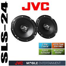 JVC CS-J620X 2 Wege Coax Auto KFZ Lautsprecher Boxen 16cm 300W o. Gitter Hybrid