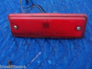 1985 EL CAMINO SIDE REAR MARKER CLEARANCE LIGHT OE USED ORIG CHEVROLET 1986 1987