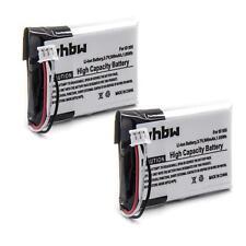 2x BATERIA 430mAh para Philips ID 555 ID555