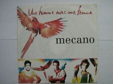 MECANO 45 TOURS GERMANY UNE FEMME AVEC UNE FEMME+