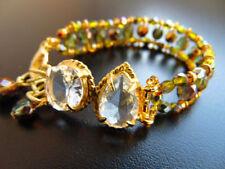 Modeschmuck-Armbänder mit Kristall Karabinerverschluss