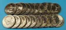 20 - PERU 10 SOLES DE ORO TUPAC AMARU COIN 1975 (LOT OF 20 COINS) - UNCIRCULATED