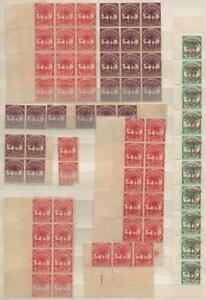SAMOA: Collection of Unused Marginal Blocks and Strips - Album Page (39804)