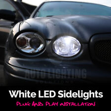 For Jaguar X-Type 2001 - 2009 White LED Sidelight Light Bulbs Canbus *SALE*