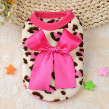 Pet Coat Dog Flannel Jacket Winter Clothes Puppy Cat Sweater Clothing Apparel