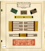 US Stamps Revenue Pennsylvania Liquor Taxes Stamp Selection on Page