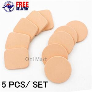 5 PCS/SET Sponge Cosmetic Puff Face Makeup Foundation Contour Facial Powder