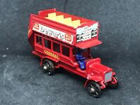 *HTF Matchbox Yesteryear Y2 Issue 20 *Black Wheels 1911 'B' Type London Bus