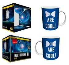 DOCTOR WHO Bow Ties Are Cool Ceramic Coffee Mug, 11 oz, Boxed, Culturenik
