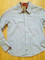 OKAIDI Garçon 10 ans superbe chemise manches longues bleue   shirt