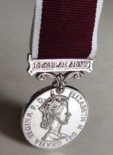 U.K Great Britain British Medal for Long Service and Good Conduct Regular Army