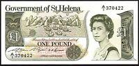 1981 ST HELENA £1 BANKNOTE * A/1 370422 * UNC * P-9a * Saint Helena