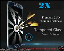 2x Tempered Glass LCD Screen Protector For Samsung Galaxy S4 S5 S6 Note 3 4 5