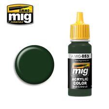 Ammo of Mig Jimenez Acrylic Color Russian Protective Green Mc-1200 17ml #0053