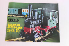 LGB Spare - LGB Catalogue Lehmann Large Railway Folding Catalogue 1969/70