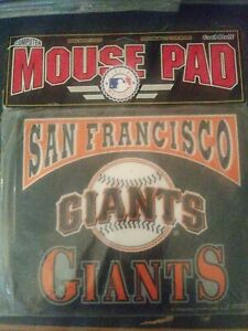 Vintage PC Mouse Pad San Fransico Giants 1994 Cool Stuff Corp. Vintage 90s MLB