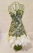 Wedding Reception Decorations - Flower Petal Spring Dress Form