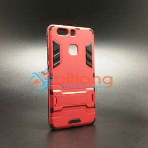 HUAWEI P9 PLUS HYBRID KICKSTAND RUBBER ARMOR PC+TPU 2 IN 1 STAND FUNCTION CASE