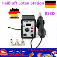 Heißluft-Lötpistolengriff 858 858D 8858 8586 878 BGA Rework Lötstation Reparatur