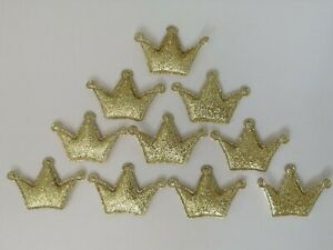 20 x Mixed Mini Glitter Padded Stars Embellishments Crafts Bow Card DIY Applique
