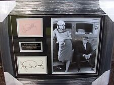 WARREN BEATTY and FAYE DUNAWAY BONNIE and CLYDE  SIGNED MONTAGE