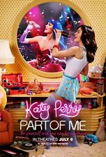 KATY PERRY PART OF ME 27X41 AUTHENTIC DOUBLE SIDED OFFICIAL THEATRE POSTER