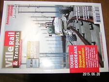 µµ Ville Rail & Transports n°575 Cahiers du GART Tours-Bordeaux TGV du futur