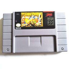 The Lost Vikings SNES Super Nintendo NTSC puzzle platform video game cart