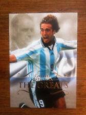 2011 Futera Unique Greats Soccer Card - Argentina BATISTUTA Mint