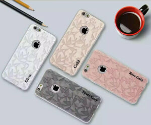 Bling Fancy Luxury 3D Case Soft TPU Back Cover For  Apple iPhone 8 7 6 6S Plus